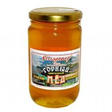 Мёд ГОРНЫЙ в стеклянной банке 500 г