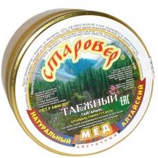 Мёд ТАЁЖНЫЙ в стеклянной банке 300 г