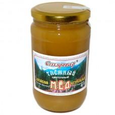 Мёд ТАЁЖНЫЙ в стеклянной банке 500 г