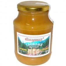 Мёд ТАЁЖНЫЙ в стеклянной банке 750 г