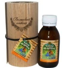 Тубус с маслом кедровым с деревянного пресса 100 мл